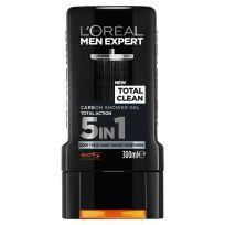 L'Oreal Paris Men Expert Total Clean Carbon Shower Gel 300ml