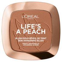 L'Oreal Paris Wake Up & Glow Lifes a Peach Blush 01 Peach Addict