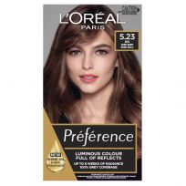 L'Oreal Paris Preference Hair Colour 5.23 Deep Rose Gold