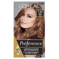 L'Oreal Paris Preference Hair Colour 7.23 Bali Dark Rose Gold