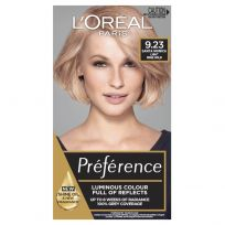 L'Oreal Paris Preference Hair Colour 9.23 Santa Monica Light Rose Gold