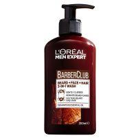 L'Oreal Paris Men Expert Barber Club 3 in 1 Wash 200ml