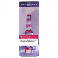 L'Oreal Paris Revitalift Filler Hyaluronic Acid Ampoules 1.3ml x 7 Pack