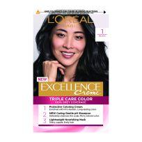 L'Oreal Paris Excellence Triple Care Hair Colour 1 Black