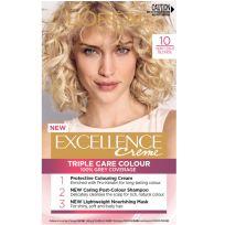 L'Oreal Paris Excellence Triple Care Hair Colour 10 Very Light Blonde