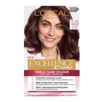 L'Oreal Paris Excellence Triple Care Hair Colour 5.15 Natural Frosted Brown