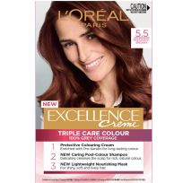 L'Oreal Paris Excellence Triple Care Hair Colour 5.5 Mahogany Brown