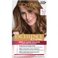 L'Oreal Paris Excellence Triple Care Hair Colour 6.3 Light Golden Brown