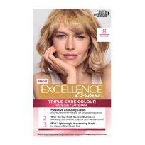 L'Oreal Paris Excellence Triple Care Hair Colour 8 Blonde