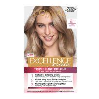 L'Oreal Paris Excellence Triple Care Hair Colour 8.1 Ash Blonde