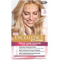 L'Oreal Paris Excellence Triple Care Hair Colour 9 Light Blonde