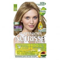 Garnier Nutrisse Hair Colour 8.13 Medium Ash Beige Blonde