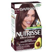 Garnier Nutrisse Hair Colour 4.15 Iced Chestnut Mahogany Ash Brown