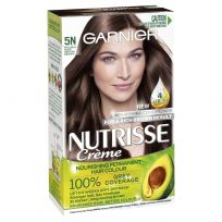 Garnier Nutrisse Permanent Hair Colour 5N Nude Medium Brown