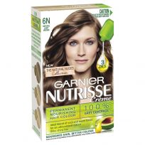 Garnier Nutrisse Creme Natural Light Brown Hair Colour