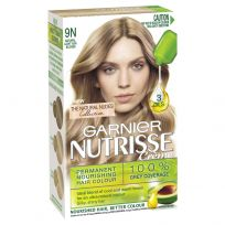 Garnier Nutrisse Creme Natural Ash Blonde Hair Colour
