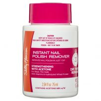 Sally Hansen Instant Nail Polish Remover Pot Strengthening Pink 75ml