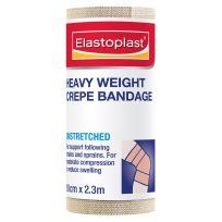 Elastoplast Heavy Weight Crepe Bandage Tan 10cm X 2.3m