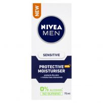 Nivea Men Sensitive Protective SPF15 Moisturiser 75ml