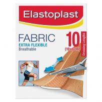 Elastoplast Extra Flexible Fabric Dressing Lengths 10cm X 6cm 10 Pack