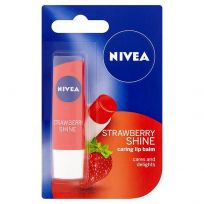 Nivea Lip Balm Strawberry Shine 4.8g