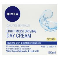 Nivea Essentials Light Moisturising Day Cream SPF30+ 50ml