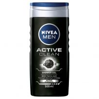 Nivea Men Active Clean Shower Gel 500ml