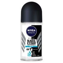 Nivea Men Antiperspirant Deodorant Invisible Black & White Fresh Roll On 50ml