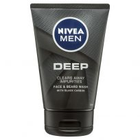 Nivea Men Deep Face & Beard Wash 100ml