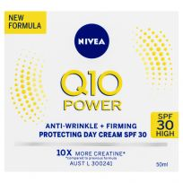 Nivea Q10 Power Anti-Wrinkle + Firming Protecting Day Cream SPF30 50ml