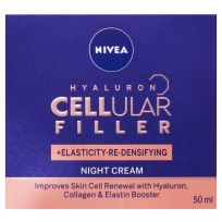 Nivea Hyaluron Cellular Filler + Elasticity Night Cream 50ml
