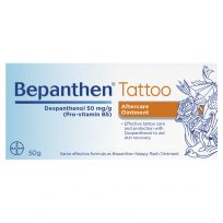 Bepanthen Tattoo Aftercare and Protection Ointment 50g