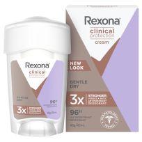 Rexona Women Clinical Antiperspirant Deodorant Gentle Dry 45ml Stick
