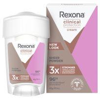 Rexona Women Clinical Antiperspirant Deodorant Sheer Powder Stick 45ml