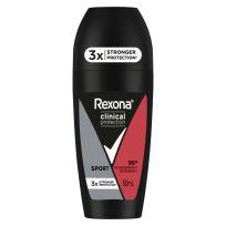 Rexona Men Clinical Antiperspirant Deodorant Roll On Sport 50ml