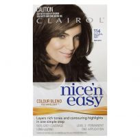 Clairol Nice 'N Easy 114 Natural Light Ash Brown 1 Pack