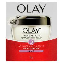 Olay Regenerist Revitalising Night Cream Advanced Anti-Ageing Moisturiser 50g