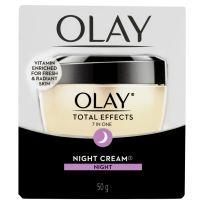 Olay Total Effects 7 in One Night Cream Moisturiser 50g