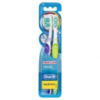 Oral B Fresh Clean Toothbrush Soft 2 Pack