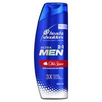 Head & Shoulders Ultra Men 2in1 Old Spice Anti Dandruff Shampoo + Conditioner 400ml