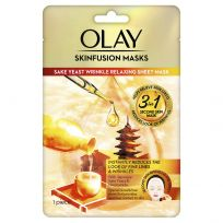 Olay Skinfusion Sake Yeast Wrinkle Relaxing Mask