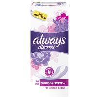 Always Discreet Normal 24 Liners Pack