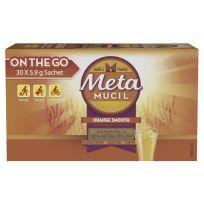 Metamucil Smooth Fibre Supplement Orange 30 Sachets