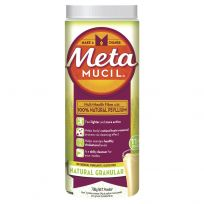 Metamucil Fibre Supplement Granular Natural 114 Doses