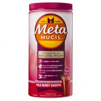 Metamucil Fibre Supplement Smooth Wild Berry 114 Doses