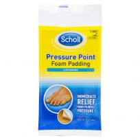 Scholl Pressure Point Foam Padding 1 Sheet