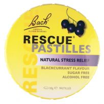 Bach Rescue Remedy Pastilles Blackcurrant 50g