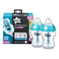 Tommee Tippee Closer to Nature Anti Colic Bottle 260ml 2 Pack