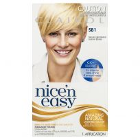 Clairol Nice 'N Easy Age Defy Permanent Hair Colourant in Golden Blonde 8G 1 Pack
