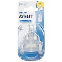 Avent Classic Teats Newborn 2 Pack